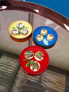 Canapes mixed