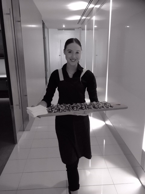Staff with canape