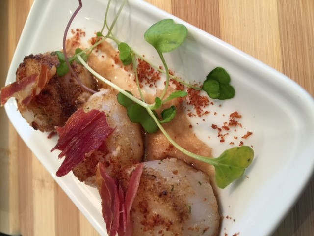 Substantial scallop