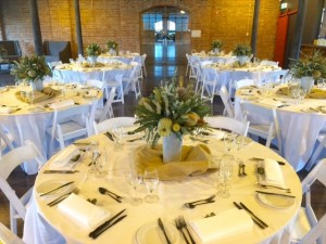 Venue Function table setting