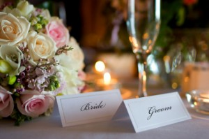 Bride and Groom (Presidential Table)